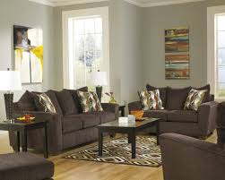 living room groups buy brogain walnut sofa by benchcraft from www mmfurniture com