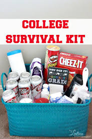 gift baskets for college students college survival kit free expense tracker