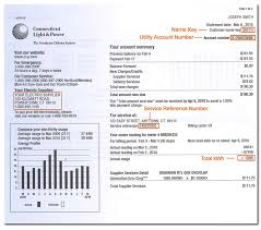 connecticut light and power how to read your electric bill us power and light