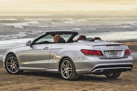 convertible mercedes 2004 2016 mercedes benz e class convertible pricing for sale edmunds