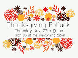 thanksgiving potluck symphony church