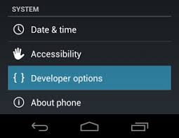 developer mode android how to enable developer mode option on android 4 2 2 naldotech