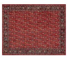 Pottery Barn Teen Rugs Brooks Printed Rug Red Multi Pottery Barn