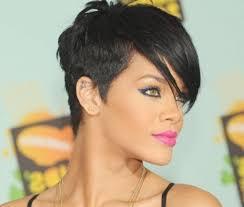 short hair image front and back view rihanna short hairstyles front and back view proper hair for