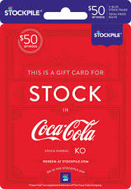 gift card for coca cola stock stockpile gifts