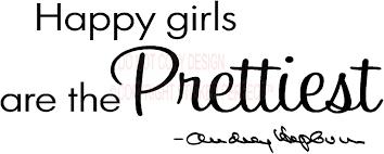 2 happy girls are the prettiest audrey hepburn wall decal quotes 2 happy girls are the prettiest audrey hepburn wall decal