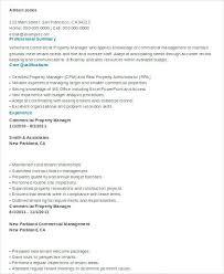 Self Storage Manager Resume Resume Regional Property Manager Resume Template Sample