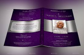 funeral program designs lavender dignity funeral program template by godserv2 graphicriver