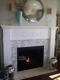mother of pearl fireplace mother of pearl tile fireplace home