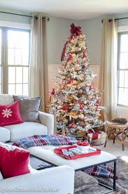 our red gold christmas tree family room four generations one