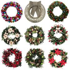 battery operated wreath how to hang a wreath on a door