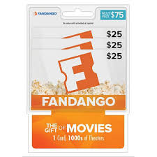 photo gift cards fandango 75 multi pack 3 25 gift cards sam s club