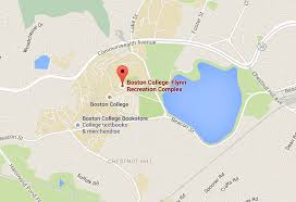 Map Of Boston College Bc Football Chestnut Hill Association
