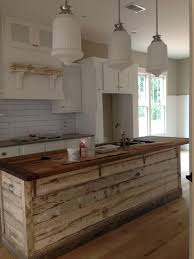 kitchen island made from reclaimed wood best 25 industrial kitchen island ideas on industrial