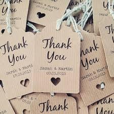 thank you tags best 25 wedding favor tags ideas on diy wedding favor