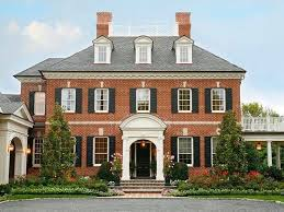 brick colonial house plans best 25 federal style house ideas on georgian