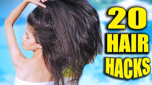 20 hair hacks every should know youtube