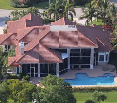 outdoor plantation entegra roof tile design with cool green grass