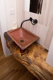 small powder room sinks small powder room sinks powder room craftsman with copper sink live