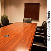 Mahogany Boardroom Table Nice Mahogany Conference Table And Leather Chairs An Empty
