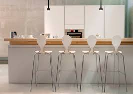 scandinavian design bar chair upholstered stackable with