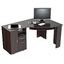 realspace magellan collection l shaped desk espresso corner l shaped desks espresso at office depot