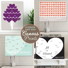 wedding wish book wedding guest book alternatives from canvas prints to heart wishes