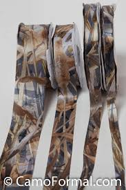 realtree ribbon mossy oak new breakup add to your dress accessories camouflage