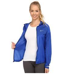 nike impossibly light jacket women s lyst nike impossibly light jacket in blue
