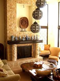 ethnic decor ideas with lanterns and pottery home ethnic decor