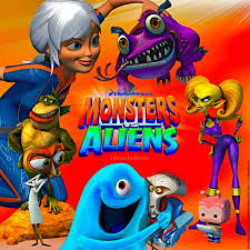 monsters aliens 2013 western animation tv tropes