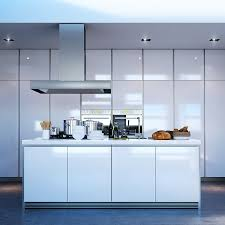 white kitchen island with seating nice gray accent walls color