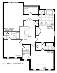 Brookfield Homes Floor Plans by Brookfield Residential Birch Homes Treetops Community In Alliston