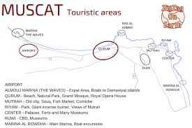 Map Of Oman Things To Do In Muscat Oman Video Map Photos Places To Visit
