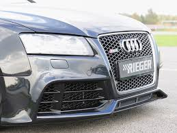 rieger audi rieger rs5 kit for your audi a5 s5 b8