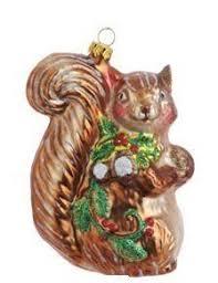 raz white squirrel decoration set of 2 2 assorted set