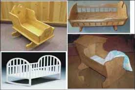 Free Woodworking Plans For Baby Crib by Doll Crib Plans Free Plans Diy Free Download Sewing Machine Desk