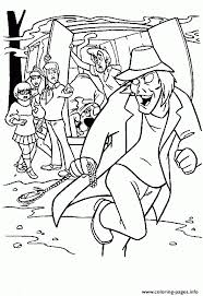 mystery zombie scooby doo 3793 coloring pages printable