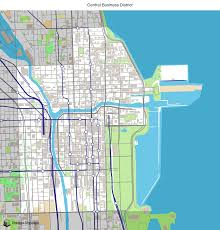 The Loop Chicago Map by Map Of Building Projects Properties And Businesses In The