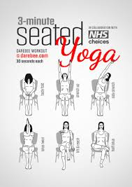Desk Yoga Poses A Three Minute Yoga Exercise Routine You Can Do While Sitting At Work