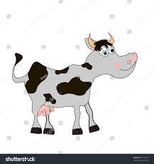 cute cow cartoon stock vector 577131772 shutterstock