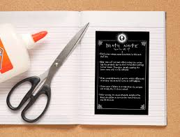 Where Can I Make A How To Make Your Own Death Note Notebook 6 Steps With Pictures