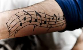 musical notes tattoo archives page 2 of 2 tatuajesxd