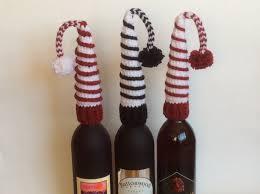 crochet pattern pdf pattern wine bottle topper pattern christmas
