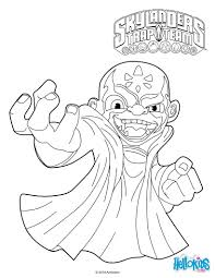 free skylander coloring pages kaos coloring pages hellokids for