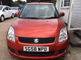 suzuki swift 1 3 gl 5dr 1 990 2008 58 reg 77 005 miles manual