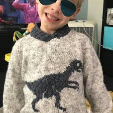 knitting pattern dinosaur jumper dinosaur hoodie velociraptor knitting pattern by iknitdesigns