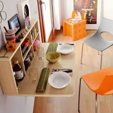 wall mounted dining tables is also kind of amazing foldable home