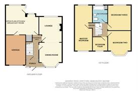 Trafford Centre Floor Plan 4 Bedroom Semi Detached House For Sale Barkway Road Manchester