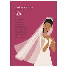 Make Your Own Bridal Shower Invitations African American Bridal Shower Invitations Plumegiant Com